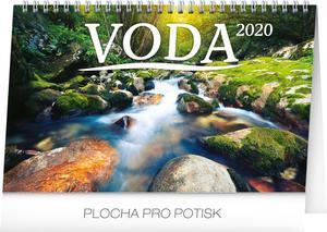 Obrázok Stolní kalendář Voda CZ/SK 2020