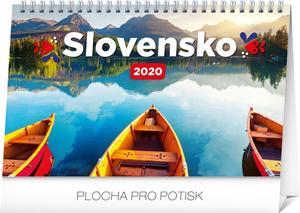 Obrázok Stolový kalendár Slovensko 2020