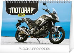 Obrázok Stolový kalendár Motorky 2020