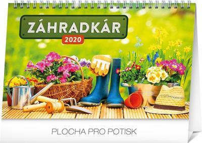Obrázok Stolový kalendár Záhradkár 2020