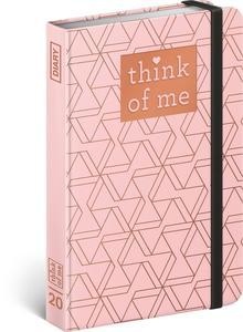 Obrázok Týdenní diář Geometric – Think of me 2020