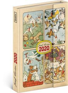 Obrázok Týdenní magnetický diář Josef Lada 2020