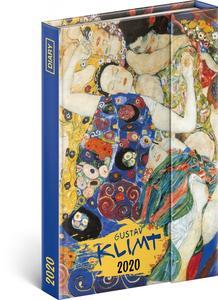 Obrázok Týdenní magnetický diář Gustav Klimt 2020