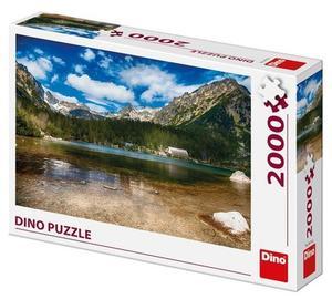 Obrázok Puzzle Tatry Popradské pleso 2000 dílků