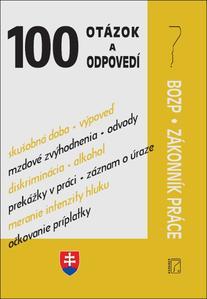 Obrázok BOZP, Zákonník práce (100 otázok a odpovedí)