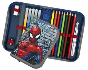 Obrázok Penál 1 p. s chlopní plný Spiderman