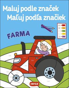 Obrázok Maluj podle značek/Maľuj podľa značiek Farma