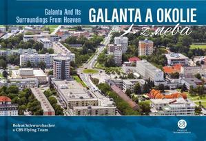 Obrázok Galanta a okolie z neba