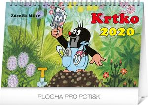 Obrázok Stolový kalendár Krtko 2020