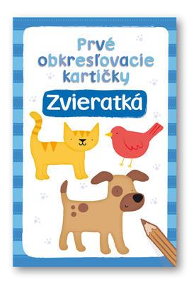 Obrázok Prvé obkresľovacíie kartičky Zvieratká