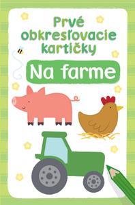 Obrázok Prvé obkresľovacie kartičky Na farme