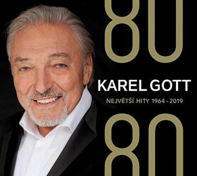 Obrázok Karel Gott  80/ 80 Největší hity 1964–2019