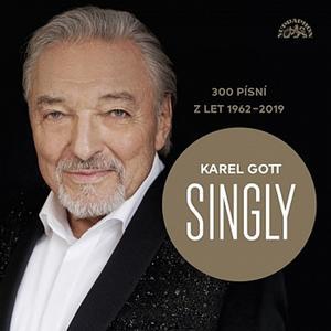 Obrázok Karel Gott Singly 300 písní z let 1962-2019