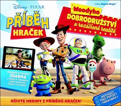 Příběh hraček Woodyho dobrodružství v rozšířené realitě