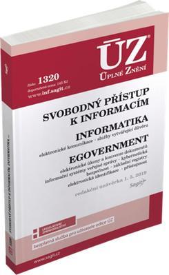 ÚZ 1320 Svobodný přístup k informacím, Informatika, eGovernment