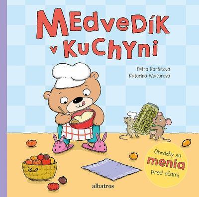 Medvedík v kuchyni