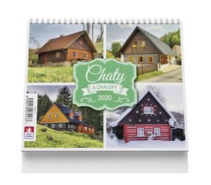 Obrázok Chaty a chalupy - stolní kalendář 2020