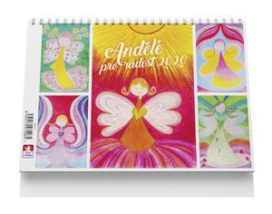 Obrázok Andělé pro radost - stolní kalendář 2020