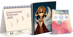 Obrázok Lunární kalendář Krásné paní 2020