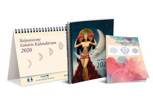 Obrázok Lunárny kalendár Krásnej panej 2020 maď.