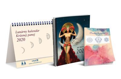 Obrázok Lunárny kalendár Krásnej panej 2020