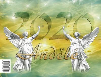 Obrázok Andělé 2020 - stolní kalendář
