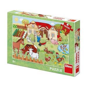 Obrázok Puzzle 100XL Zvířatka na statku
