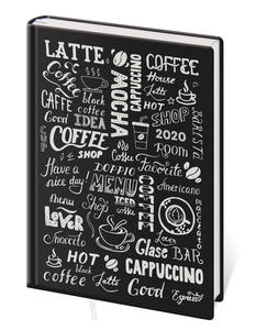 Obrázok Diář 2020 B6 LYRA denní Coffee