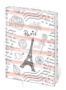 Obrázok Diář 2020 B6 LYRA denní Paris
