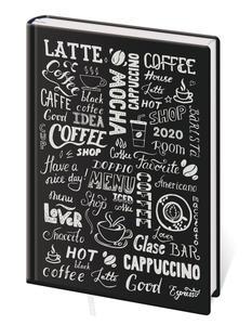 Obrázok Diář 2020 A5 LYRA denní L282 Coffee