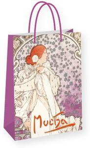 Obrázok Dárková taška Alfons Mucha – La Dame, střední
