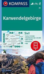 Obrázok Karwendelgebirge 26 NKOM 1:50T