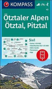 Ötztaler Alpen 43 NKOM 1:50T