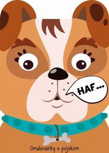 Obrázok Omalovánky zvířátka Pes