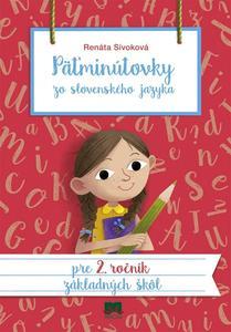 Obrázok Päťminútovky zo slovenského jazyka pre 2. ročník základných škôl