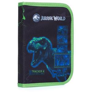 Obrázok Penál 1 p. 2 chlopně, prázdný Jurassic World