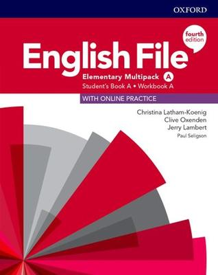 Obrázok English File Fourth Edition Elementary Multipack A