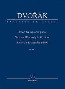 Obrázok Slovanská rapsodie g moll op. 45/2