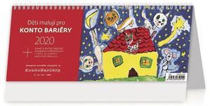 Obrázok Děti malují pro Konto Bariéry - stolní kalendář 2020