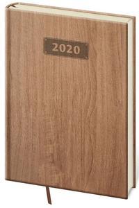 Obrázok Diář 2020 denní  A5 Wood světle hnědá
