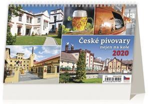 Obrázok České pivovary nejen na kole - stolní kalendář 2020