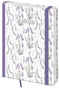 Obrázok Diář 2020 denní  A5 Vario Lavender s gumičkou