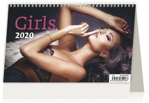 Obrázok Girls ČR/SR - stolní kalendář 2020