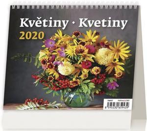 Obrázok MiniMax Květiny/Kvetiny - stolní kalendář 2020
