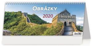 Obrázok Obrázky ze světa/Obrázky zo světa - stolní kalendář 2020