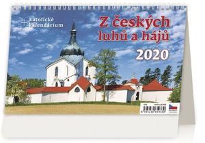 Obrázok Z českých luhů a hájů - stolní kalendář 2020