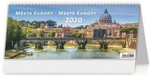 Obrázok Města Evropy/Mestá Europy - stolní kalendář 2020