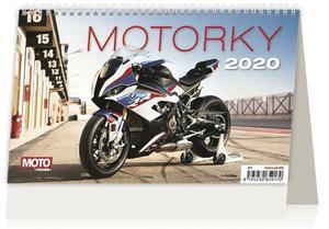 Obrázok Motorky ČR/SR - stolní kalendář 2020