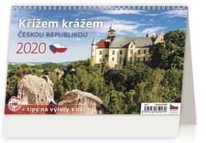 Obrázok Křížem krážem Českou republikou - stolní kalendář 2020