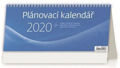 Obrázok Plánovací kalendář MODRÝ - stolní kalendář 2020
